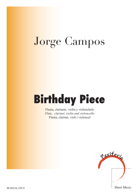Birthday Piece