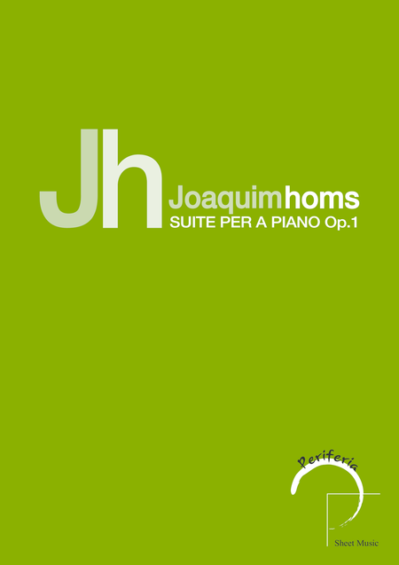 Suite per a piano Op. 1