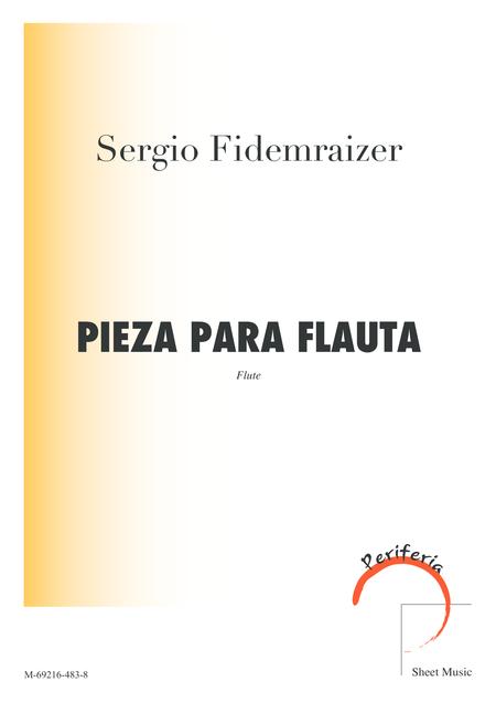 Pieza para flauta