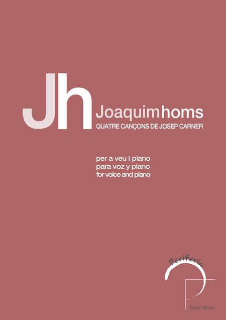 Quatre cancons de Josep Carner