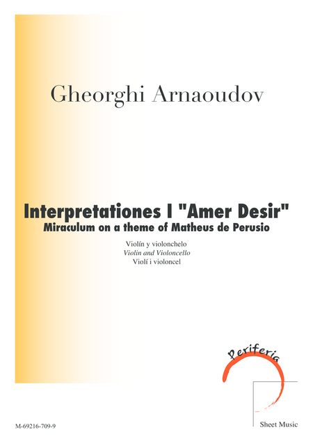 Interpretationes I
