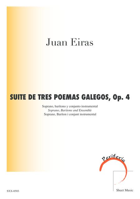Suite De Tres Poemas Galegos, Op. 4