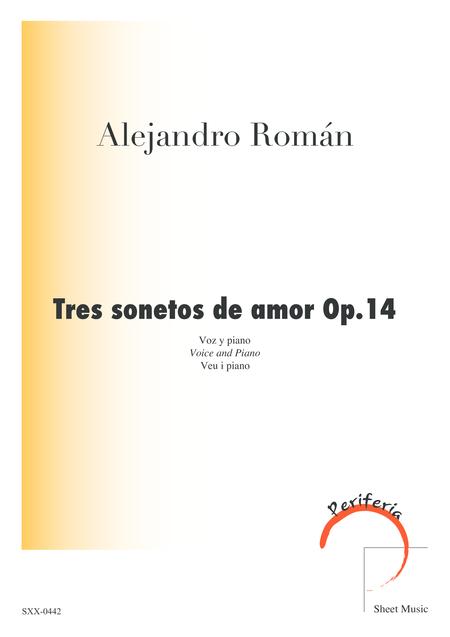 Tres sonetos de amor