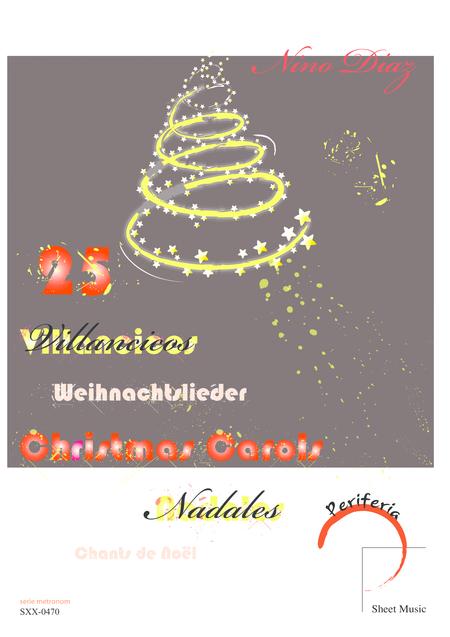 25 Christmas carols