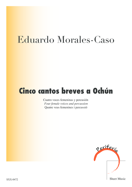 Cinco cantos breves a Ochun