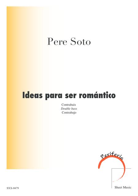 Ideas para ser romantico