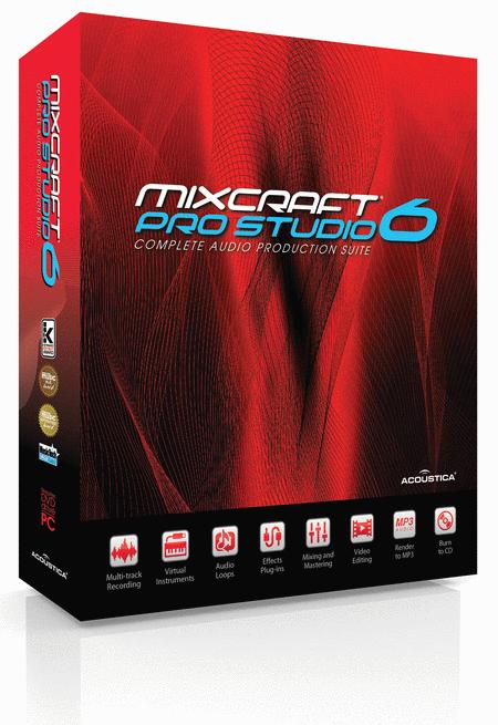 Mixcraft® Pro Studio 6