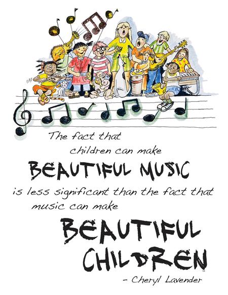 Beautiful Music, Beautiful Children Poster