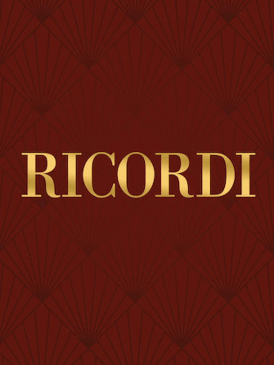 Cantata in onore del Sommo Pontefice Pio Nono Critical Edition Full Score, Hardbound with commentary