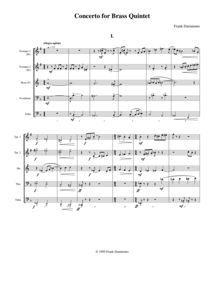 Concerto for Brass Quintet