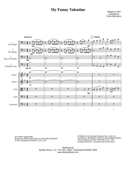 My Funny Valentine (low brass & strings)