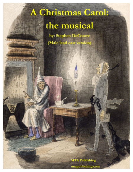Download A Christmas Carol (the Musical) (Male Lead Cast Vocal Score) Sheet Music By Stephen ...