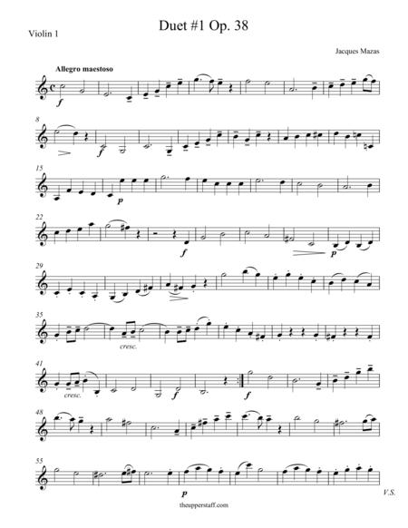 Duet #1, Op. 38