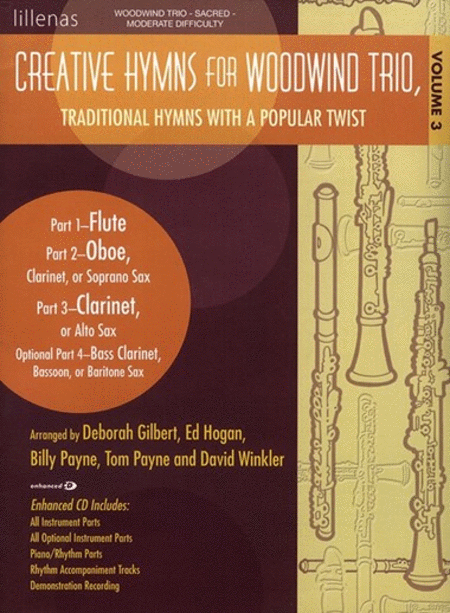 Creative Hymns for Woodwind Trio, Vol. 3