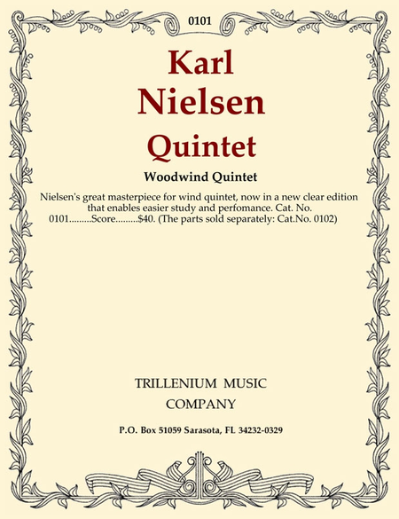 Quintet Op. 43 (score)