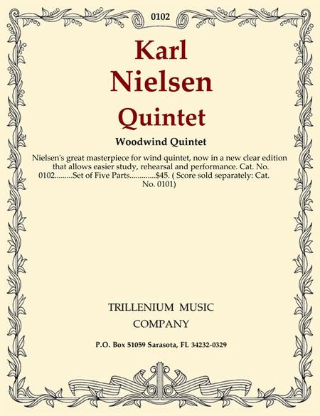 Quintet Op. 43 (parts)