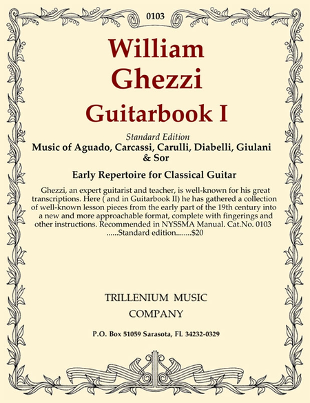 Guitarbook I (standard edition)