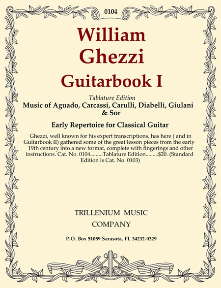 Guitarbook I (tablature edition)