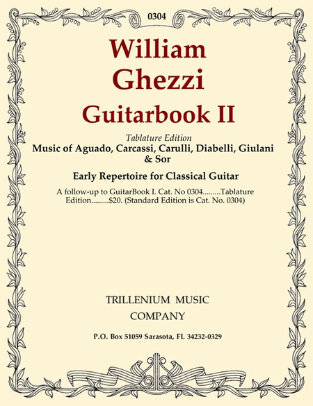 Guitarbook II (tablature edition)
