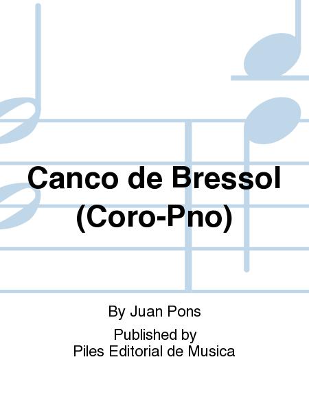 Canco de Bressol (Coro-Pno)