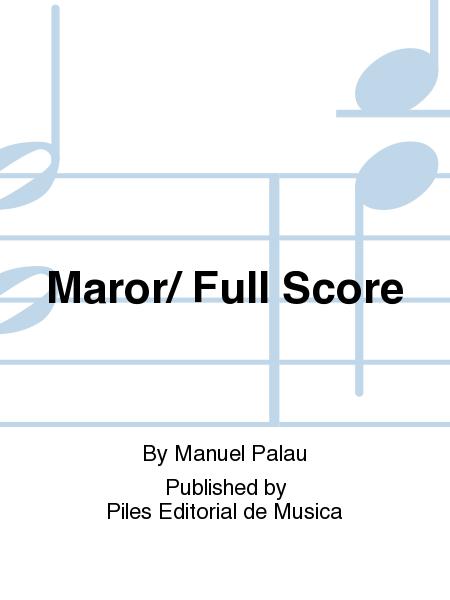 Maror/ Full Score