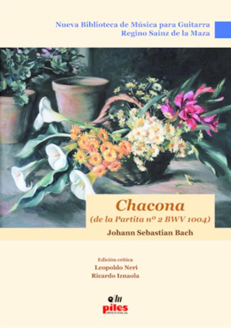 Chacona de la Partita No. 2 BWV 1004