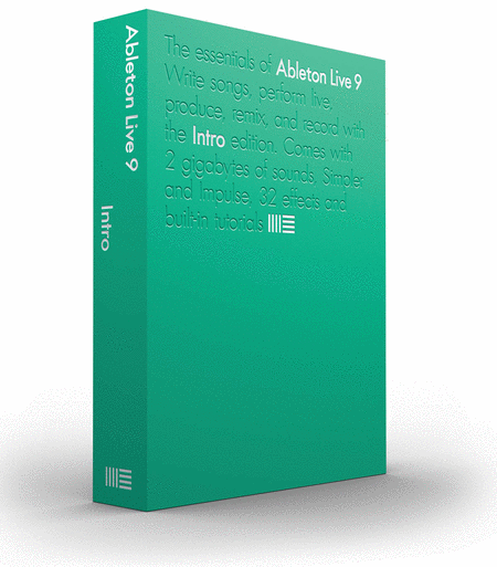Ableton Live 9 Intro - Professional Edition