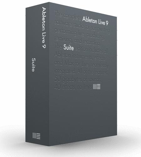 Ableton Live 9 Suite - Professional Edition