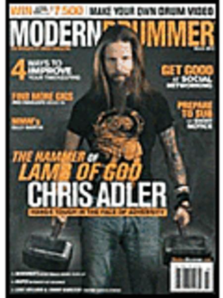 Modern Drummer Magazine - March 2013