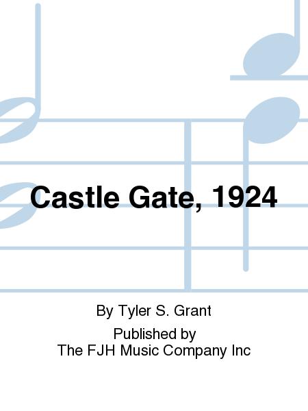 Castle Gate, 1924