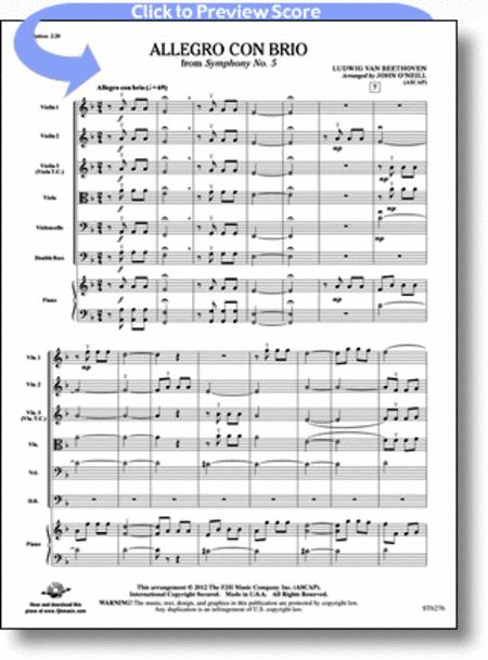 Allegro con brio from Symphony No. 5