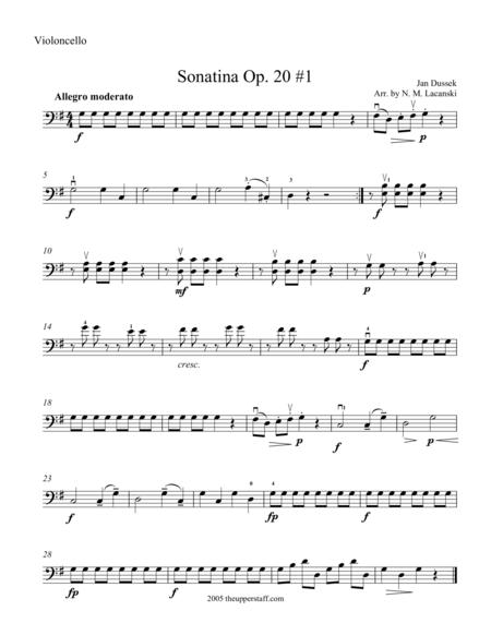 Sonatina Op. 20 #1