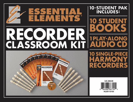 Essential Elements for Recorder Classroom Kit
