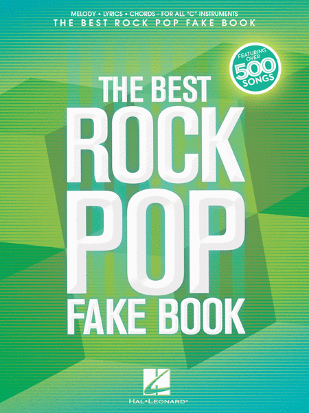 The Best Rock Pop Fake Book