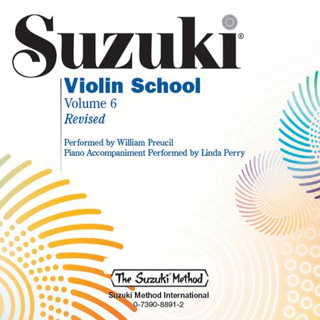 Suzuki Violin School, Volume 6