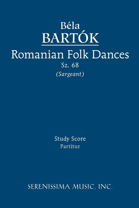 Romanian Folk Dances, Sz. 68