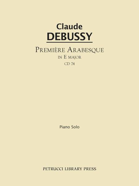 Premiere arabesque in E major