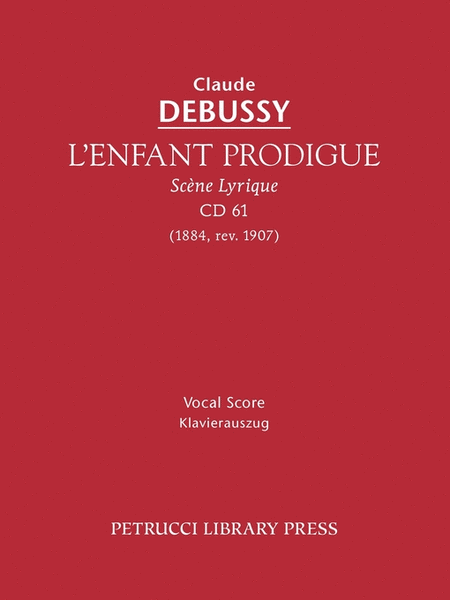 L'Enfant Prodigue, CD61