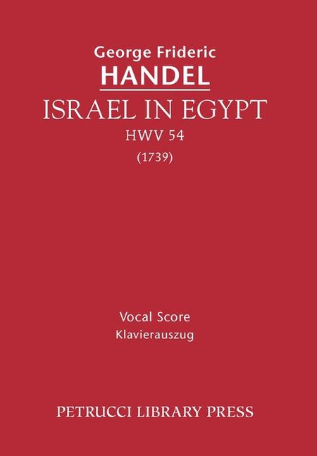 Israel in Egypt, HWV 54