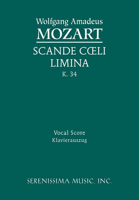 Scande coeli limina, K. 34