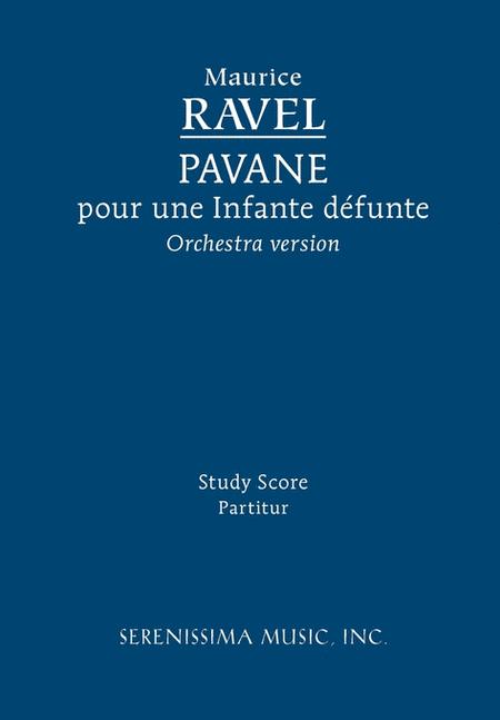 Pavane pour une Infante defunte, Orchestra version