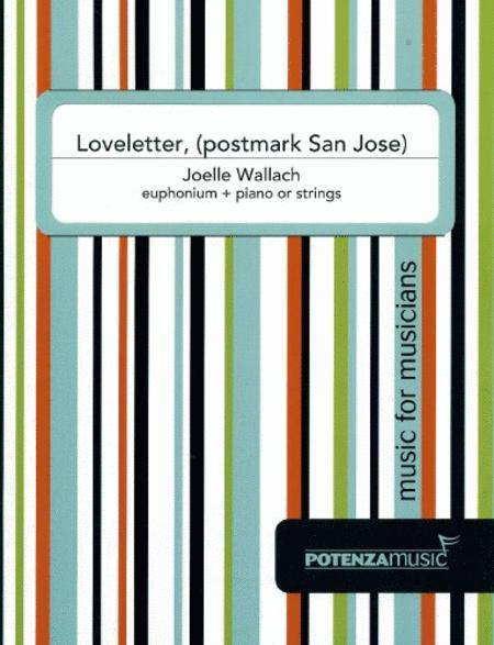 Loveletter, (postmark San Jose)
