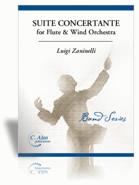 Suite Concertante for Flute & Wind Orchestra (score & parts)