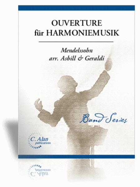 Ouverture fur Harmoniemusik (score only)