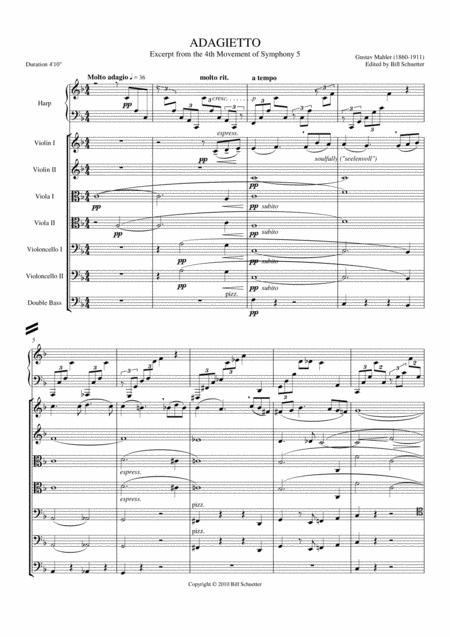 Adagietto From Symphony #5