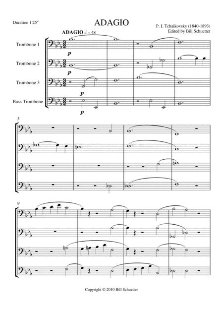 Adagio in Bb