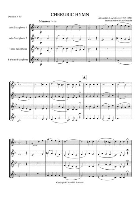 Cherubic Hymn