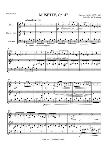 Musette, Op. 47