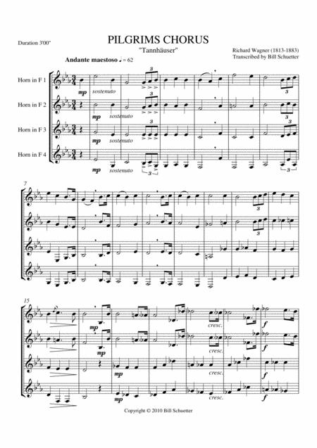 Pilgrims' Chorus From
