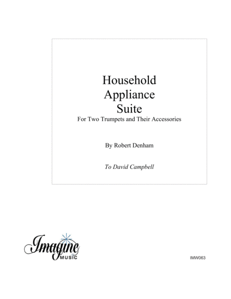Household Appliance Suite